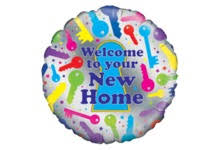 welcome home balloons delivery welcome new home balloons congratulations balloon delivery