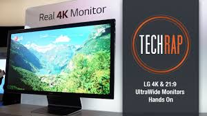 lg 4k monitor and ultrawide qhd monitor hands on youtube