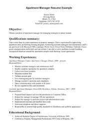 Resume Samples Director Operations by Assistant Property Manager Resume Template Resume Builder