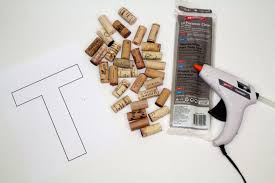 diy wine cork letters plus giveaway a little craft in your day
