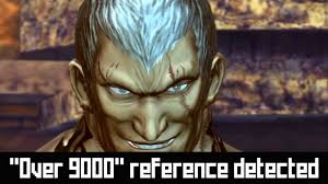 Over 9000 Meme - how the over 9000 meme was inserted into street fighter x