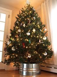 Where To Buy Christmas Tree Ornaments Diy Galvanized Christmas Tree Collar Hack Diy Network Blog Made