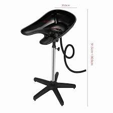 Portable Sink For Hair Salon by Adjustable Shampoo Basin Hair Bowl Drain Tube Hairdresser Barber