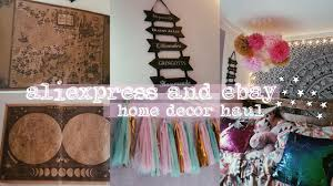 aliexpress ebay home accessories haul boho harry potter
