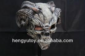 Realistic Halloween Costumes Top Selling Eco Friendly Latex Realistic Ram U0027s Horn Demon Mask For