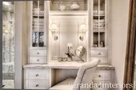 Glass Vanity Table With Mirror Built In Dressing Table Design Ideas