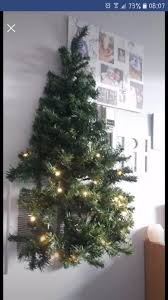 pre lit wall mounted tree in exeter gumtree