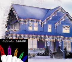 set of 150 shimmering multi color mini icicle