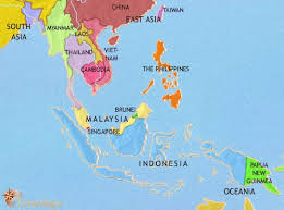 asia east map map of south east asia at 1960ad timemaps