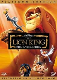 amazon lion king disc platinum edition french