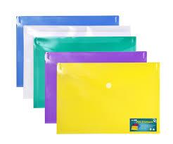 envelopes premium poly envelope with velcro closure 5pc mix