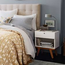 Nightstand Cover Modern Nightstand West Elm
