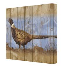 Pheasant Home Decor by Pheasant Canvas Wall Art Ptmimages