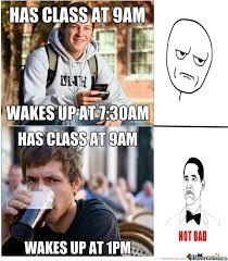 College Students Meme - good student and lazy student by elson meme center
