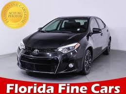 toyota corolla similar cars used 2016 toyota corolla s plus sedan for sale in fl