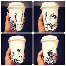 coffee cup drawing coffee cup doodle by norah www norah com au