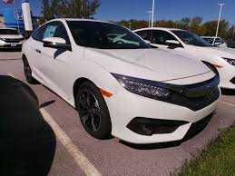 new 2017 honda civic coupe touring cvt 2dr car in erie ho9796