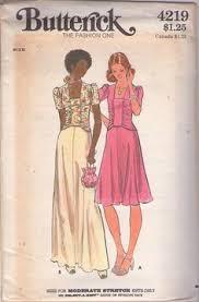 vintage dress 70 s slinky kloss butterick dress the artist vintage clothing
