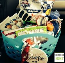 baseball gift basket diy baseball gift idea