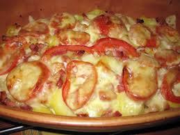 cuisine avec les restes recette de tartiflette avec des restes tomates fromage raclette