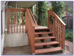 deck stair handrail ideas decks home decorating ideas zemgqd320b