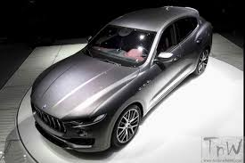 maserati kerala maserati debuts the levante geneva the brand u0027s first suv