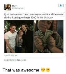 Supernatural Birthday Meme - 25 best memes about dean from supernatural dean from