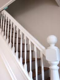 decor real white stair rails design ideas with white accent wall
