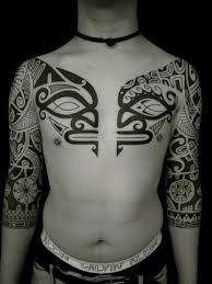 tribal maori sleeve by apocaript
