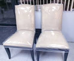 dining chairs dining room chair protective plastic covers clear with regard to size 1024 x 849
