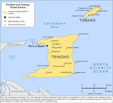 Map Of Trinidad How Safe Is Trinidad And Tobago Safety Tips U0026 Crime Map Safearound
