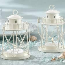 lighthouse cake topper by the sea mini lighthouse lantern tea light holders