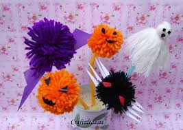 halloween craft ideas yarn ghost for kids craft ideas