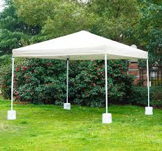 Awning Weights Black Friday Outsunny Tent Weight Base 4pc Gazebo Foot Anchor