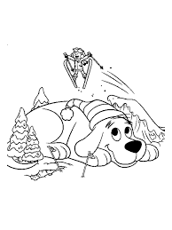 clifford coloring pages getcoloringpages
