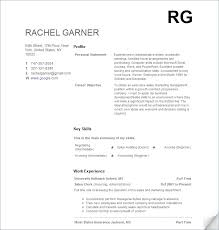 Writing First Resume No Experience How To Write A Resume With No Job Experience Example Resume Work