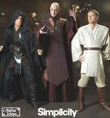 Anakin Skywalker Halloween Costume Star Wars Jedi Sewing Pattern Obi Wan Anakin Skywalker Costume
