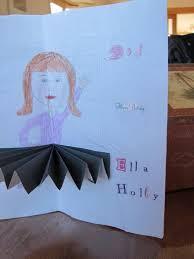 threelilprincesses com how to make a ballerina card for a ahem