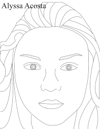 28 self portrait coloring page self portrait coloring page