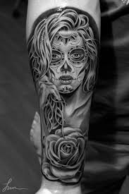 black and white sugar skull inked inspiration a collection