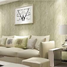 creative idea room decor with round cream knited ottoman on