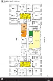 8 york street floor plans wallach hall housing