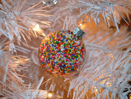that flour child land tree diy sprinkle ornaments