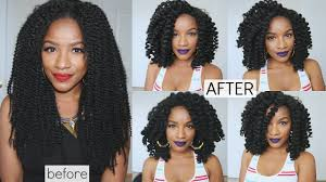 crochet marley hair crochet braids style w marley hair lace wig fast easy