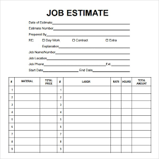 how to write a job quote template word professional resumes