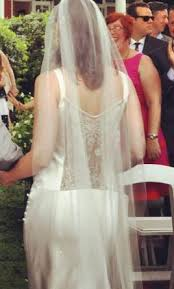 deco wedding dress elizabeth fillmore deco 2 525 size 6 used wedding dresses