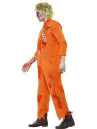 zombie death row inmate costume 40054 fancy dress ball