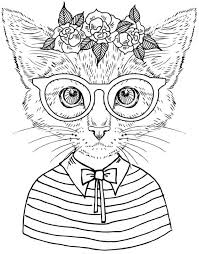 kitten coloring pages to print best 25 colouring pages ideas on pinterest coloring pages