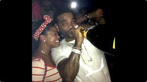 rapper jim jones inks fiance chrissy lampkink u0027s face on his forearm
