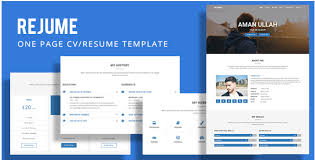 Resume Templates Website 65 Best Html5 Resume Templates 2017